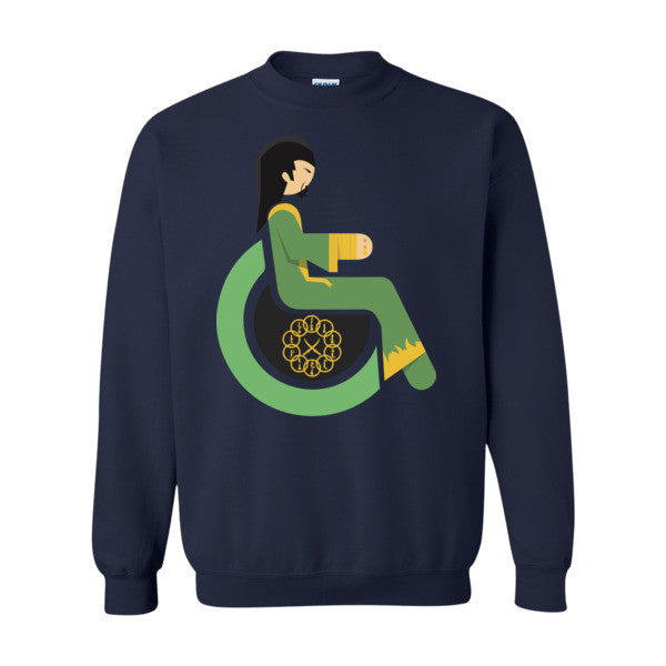 Men's Adaptive Mandarin Crewneck Sweatshirt