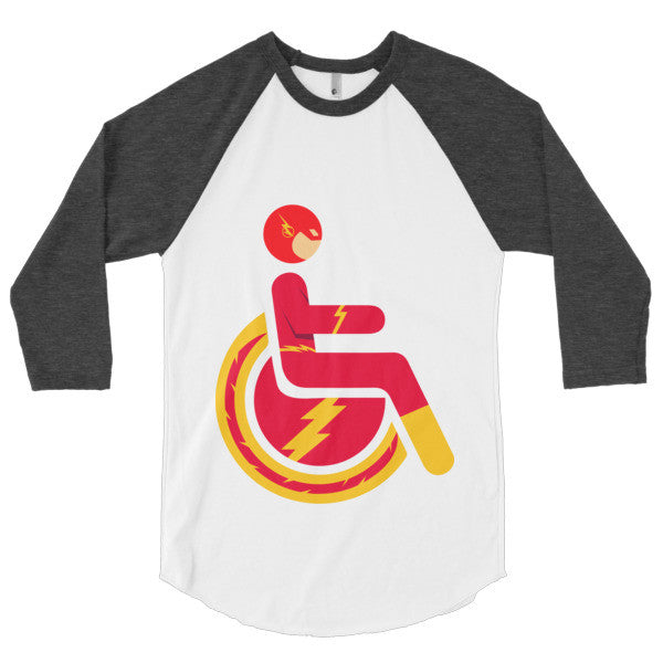 Men's Adaptive Flash 3/4 Sleeve Raglan Shirt