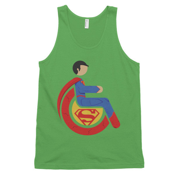Adaptive Superman Classic Tank Top