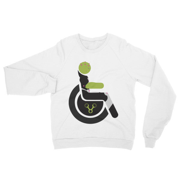 Adaptive Brainiac Raglan Sweater