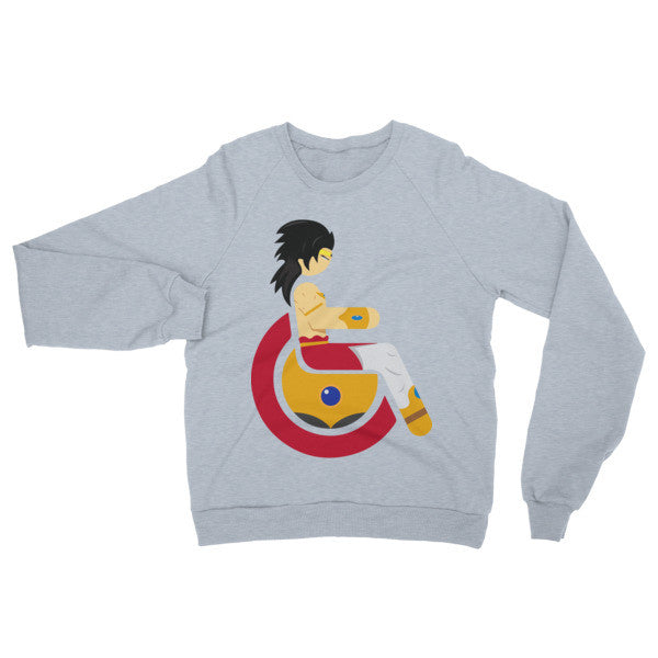 Adaptive Broly Raglan Sweater