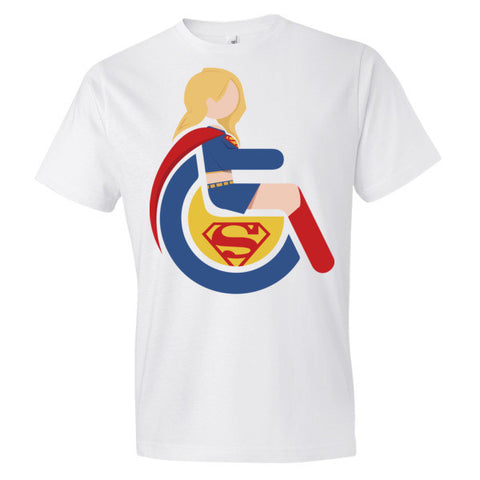 Men's Adaptive Supergirl Lightweight T-Shirt