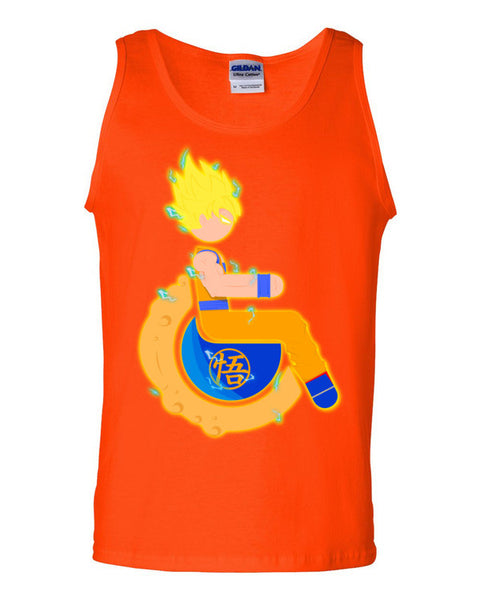 Men's Adaptive Super Saiyan 1 Goku Tank Top