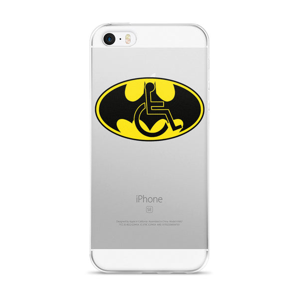 Adaptive Batman Symbol iPhone 5/5s/Se, 6/6s, 6/6s Plus Case