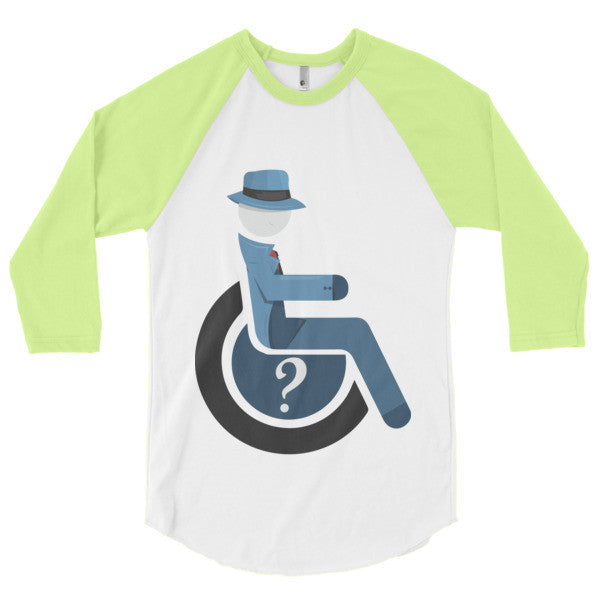 Men's Adaptive Question 3/4 Sleeve Raglan Shirt