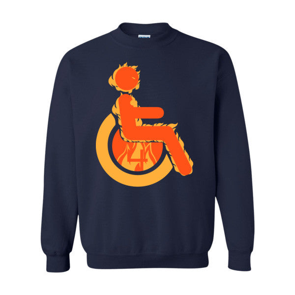 Men's Adaptive Human Torch Crewneck Sweatshirt
