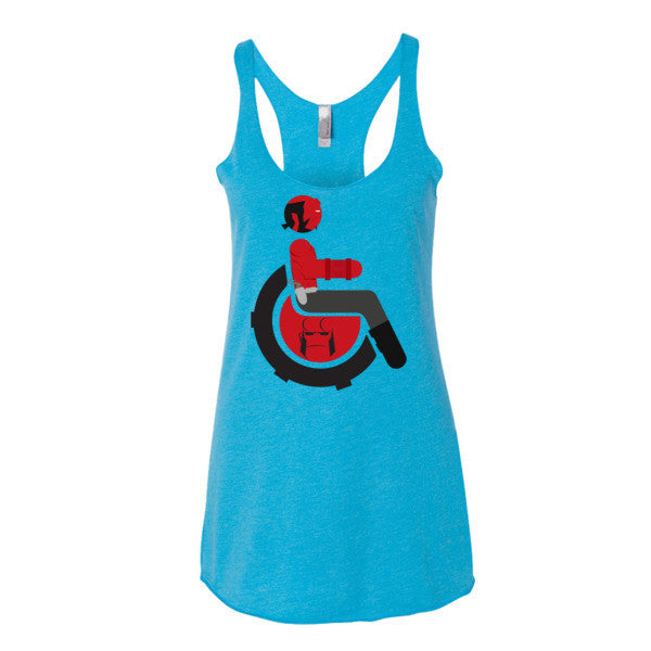Women's Adaptive Hellboy Tank Top (XS-L)