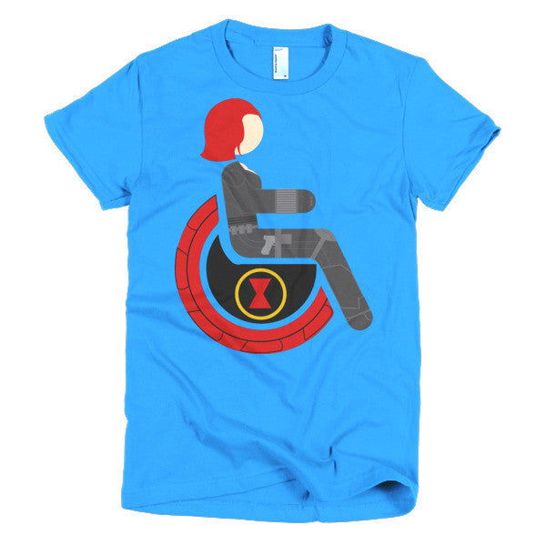 Women's Adaptive Black Widow T-Shirt (S-L)