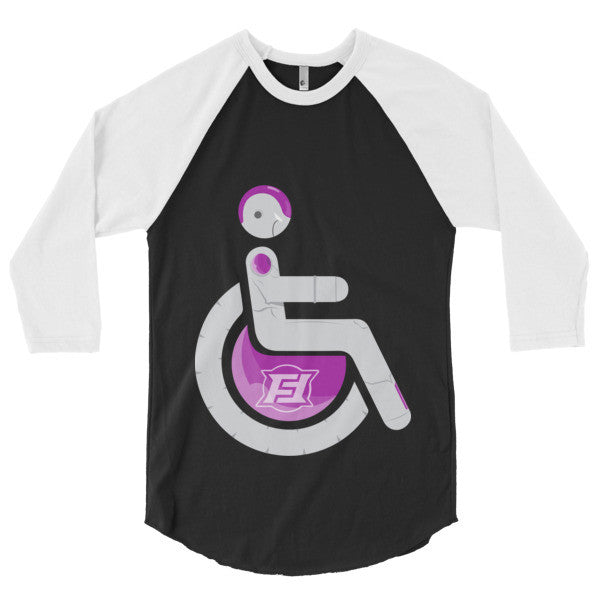 Men's Adaptive Super Frieza 3/4 Sleeve Raglan Shirt