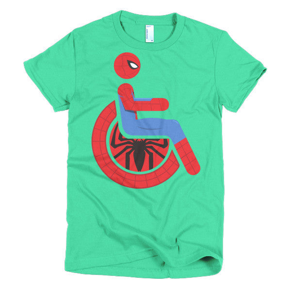 Women's Adaptive Spider-Man T-Shirt (S-L)
