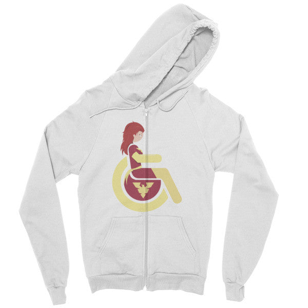 Men's Adaptive Dark Phoenix Zip Hoodie