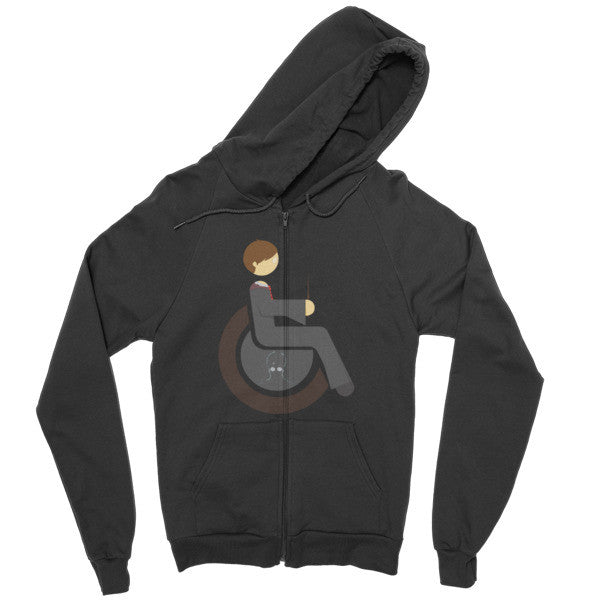 Men's Adaptive Harry Potter Zip Hoodie