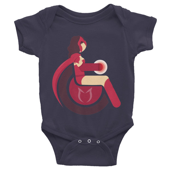Adaptive Scarlet Witch Baby Onesie