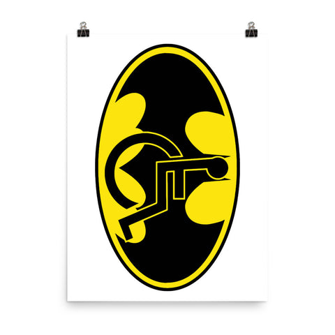 Adaptive Batman Symbol 18x24 Photo Paper Poster