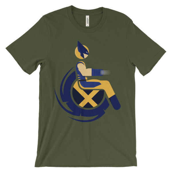 Adaptive Wolverine Short Sleeve T-Shirt