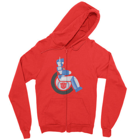 Men's Adaptive Ultra Magnus Zip Hoodie