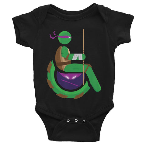 Adaptive Donatello Baby Onesie