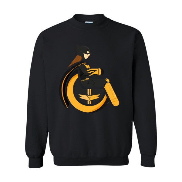 Men's Adaptive Batgirl Crewneck Sweatshirt