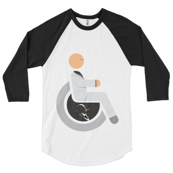 Men's Adaptive Kingpin 3/4 Sleeve Raglan Shirt