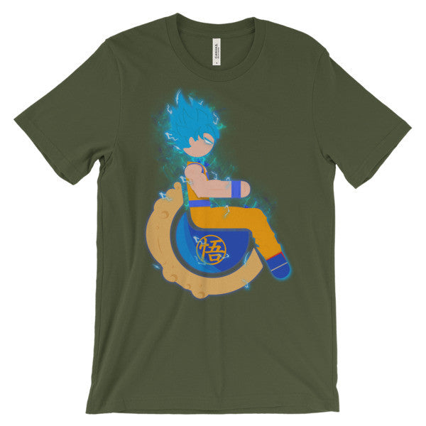 Adaptive Super Saiyan God Super Saiyan Goku Short Sleeve T-Shirt