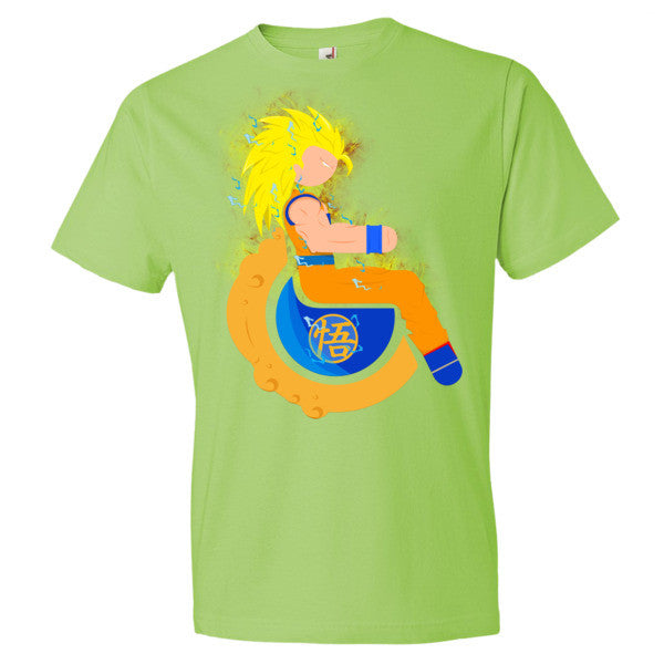 Men's Adaptive Super Saiyan 3 Goku Lightweight T-Shirt