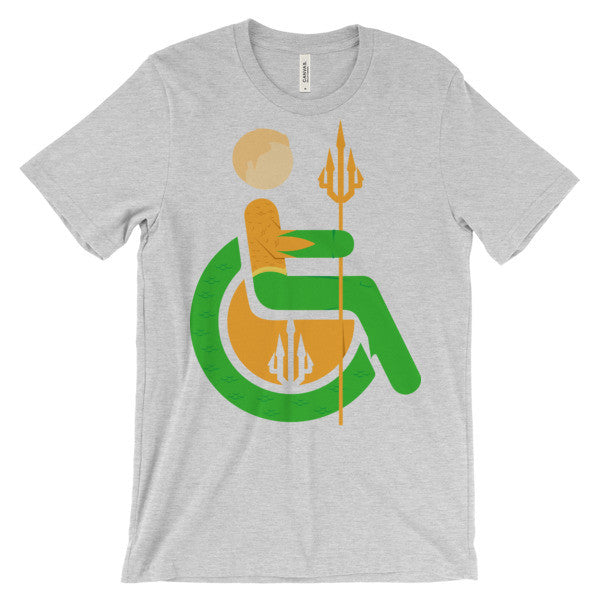 Adaptive Aquaman Short Sleeve T-Shirt