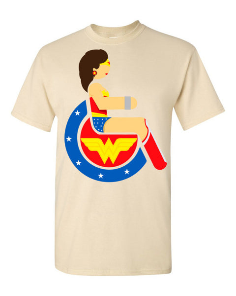 Men's Adaptive Wonder Woman T-Shirt