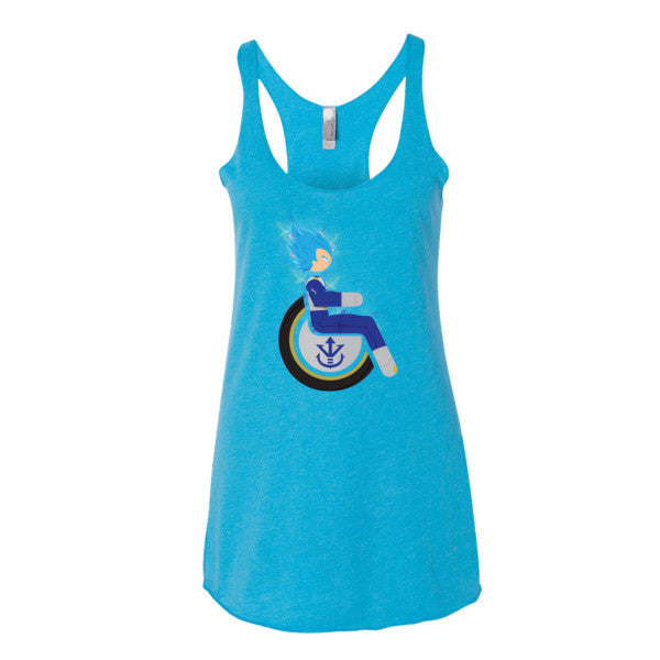 Women's Adaptive Super Saiyan God Super Saiyan Vegeta Tank Top (XL)
