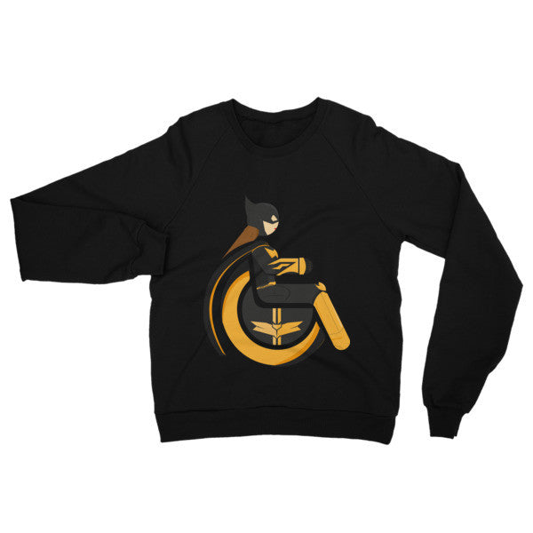 Adaptive Batgirl Raglan Sweater