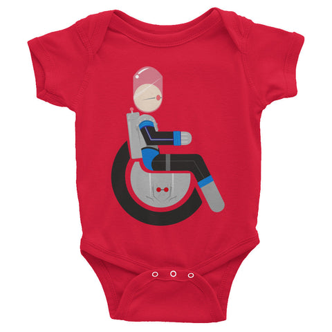 Adaptive Mr. Freeze Baby Onesie