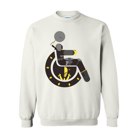 Men's Adaptive Deathstroke Crewneck Sweatshirt