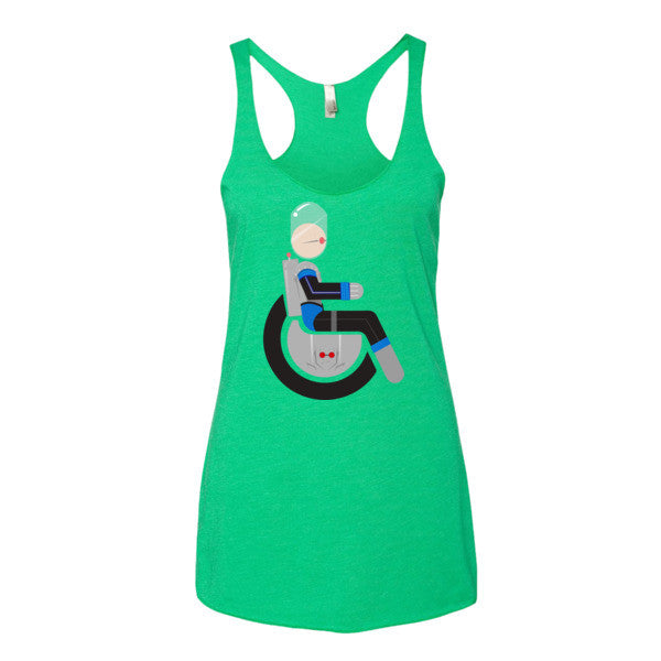 Women's Adaptive Mr. Freeze Tank Top (XS-L)