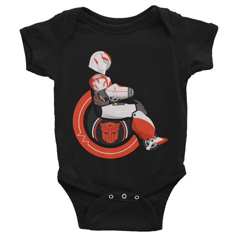 Adaptive Ratchet Baby Onesie