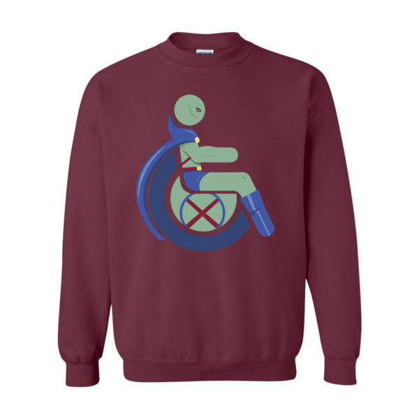 Men's Adaptive Martian Manhunter Crewneck Sweatshirt