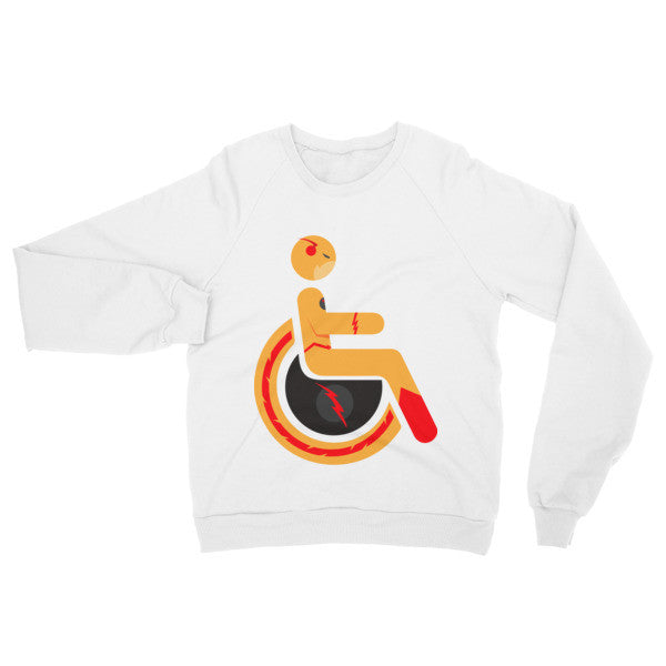 Adaptive Reverse-Flash Raglan Sweater