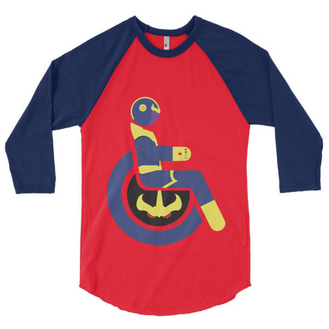Men's Adaptive Thanos 3/4 Sleeve Raglan Shirt