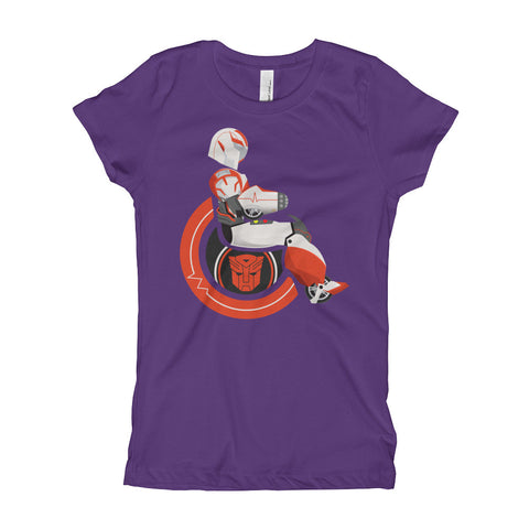 Girl's Youth Adaptive Ratchet T-Shirt (XS-XL)