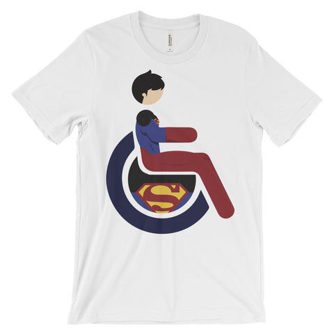 Adaptive Superboy Short Sleeve T-Shirt (3XL-4XL)