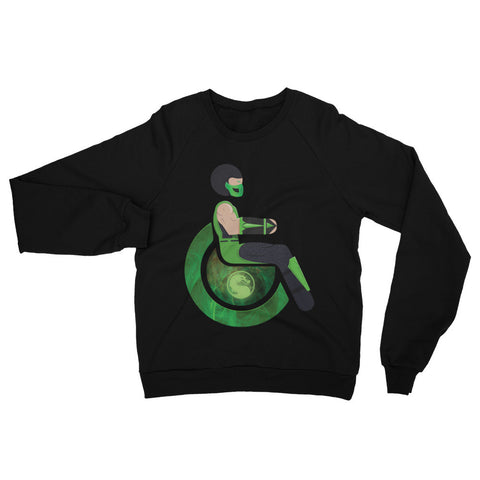 Adaptive Reptile Raglan Sweater