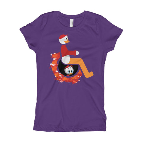 Girl's Youth Adaptive Huey T-Shirt (XS-XL)