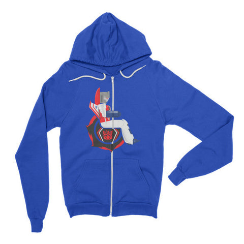 Adaptive Starscream Flex Zip Hoodie