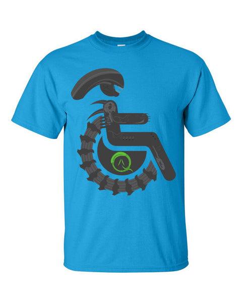 Men's Adaptive Alien Xenomorph Drone T-Shirt
