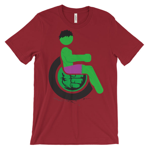 Adaptive Hulk Short Sleeve T-Shirt (3XL-4XL)