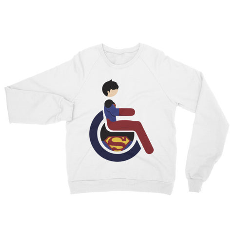 Adaptive Superboy Raglan Sweater