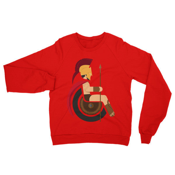 Adaptive King Leonidas Raglan Sweater
