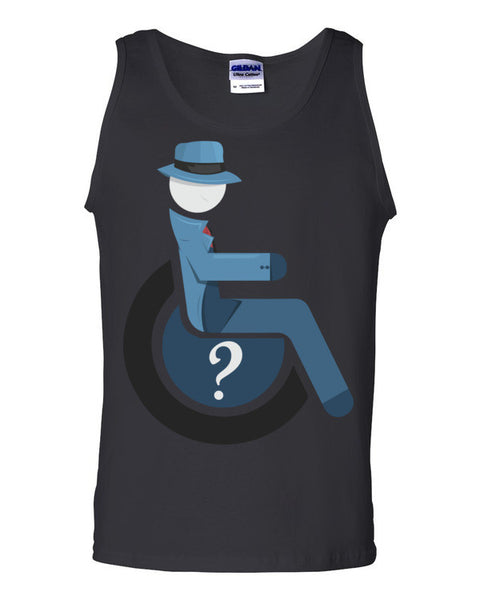 Men's Adaptive Question Tank Top