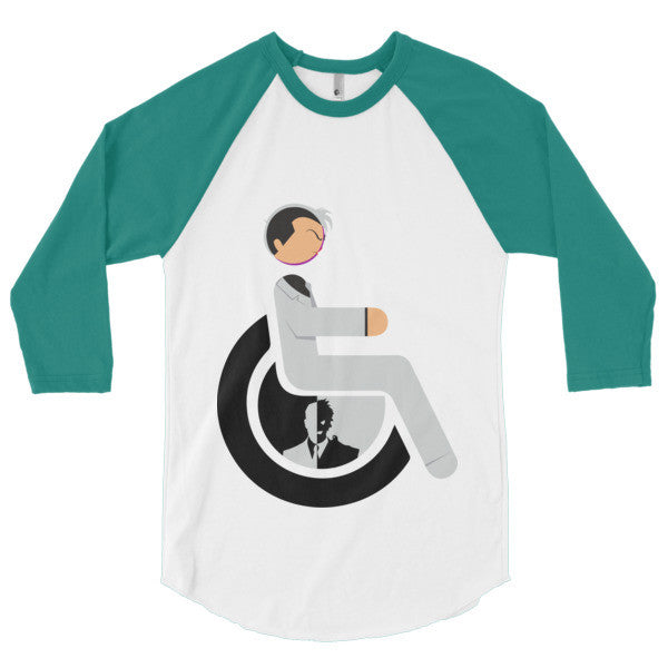 Men's Adaptive Two-Face 3/4 Sleeve Raglan Shirt