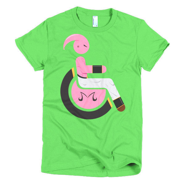 Women's Adaptive Kid Buu (Majin Buu) T-Shirt (XL-2XL)