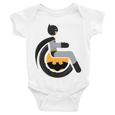 Adaptive Batman Baby Onesie