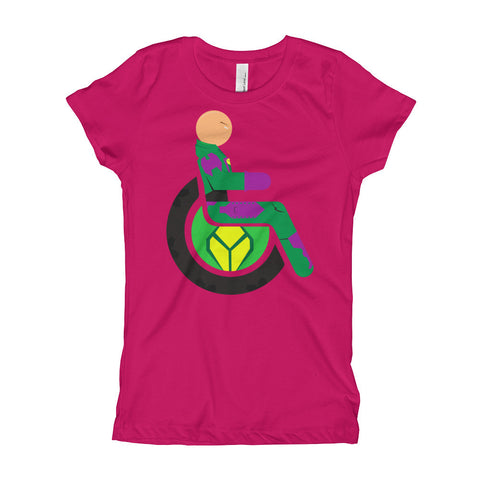 Girl's Youth Adaptive Lex Luthor T-Shirt (XS-XL)